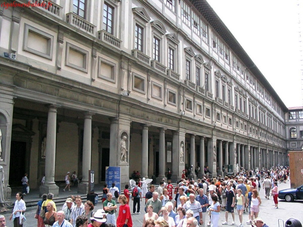 Italie 2004 photos florence - Galerie des offices a florence ...